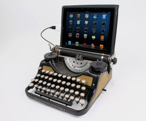 USB Typewriter Keyboard iPAD