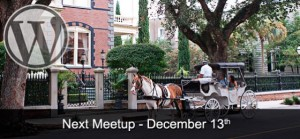 December CHS WordPress Meetup