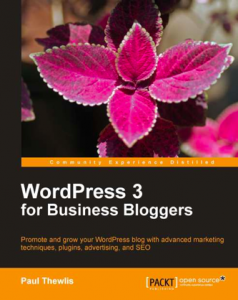 WordPress 3 For Business Bloggers book and eBook