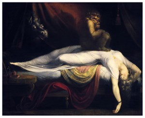 Henry Fuseli, The Nightmare, circa 1781
