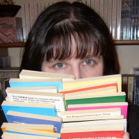 Amanda Holling with Books